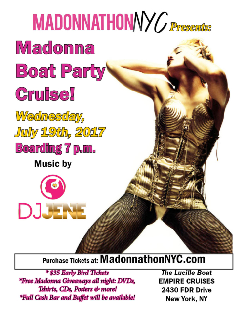 July 19 boat party