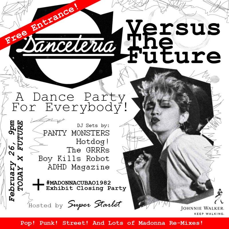 DANCETERIA VERSUS THE FUTURE