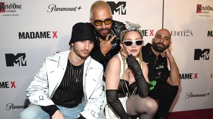 Sasha-Kasiuha-Ricardo-Gomes-Madonna-and-Nuno-Xico-at-World-Premiere-of-Madonnas-Madame-X-Getty-H-2021